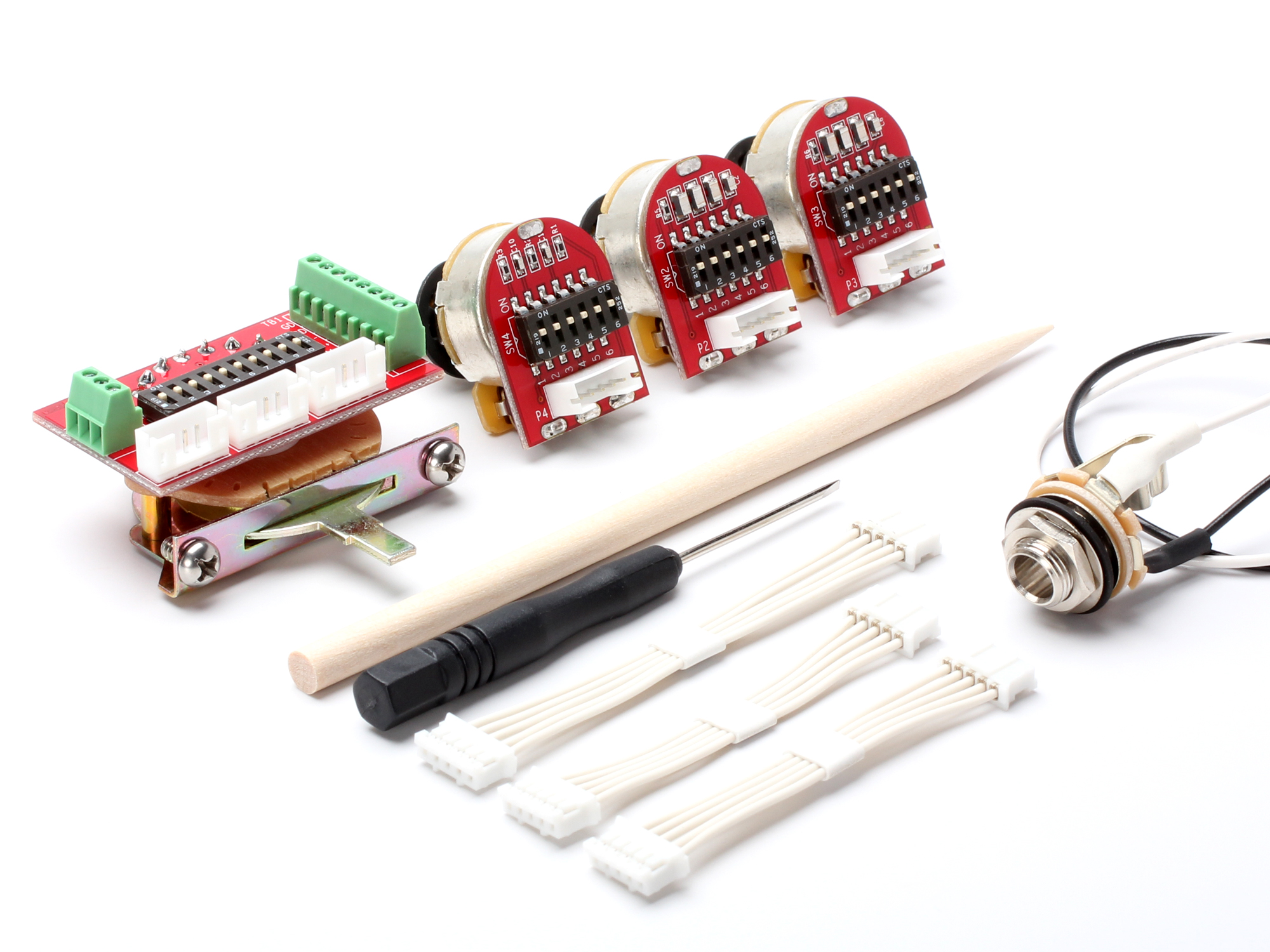 This Kit - Contents & Pickup Switching