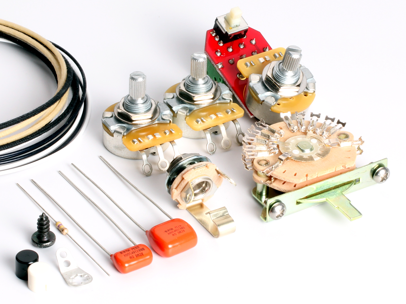 strat hss wiring kits series parallel toneshapers wiring kit stratocaster hss1 series parallel